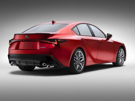 2022 Lexus IS 500 F Sport Performance Revealed!