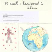 20 avril 2020 Enseignement à distance Sylvie