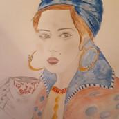 28 mars Portrait couleur Anne