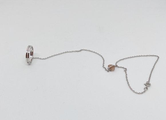 Gelang Silver (malha fina)