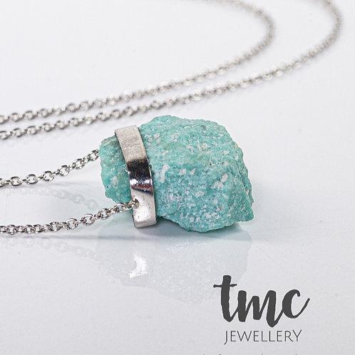 Amazonite Silver