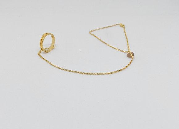 Gelang Gold (malha fina)