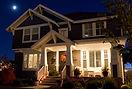 Autumn-night-house-flickr-creative-commo