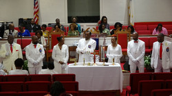 Pastor ministers and deacons
