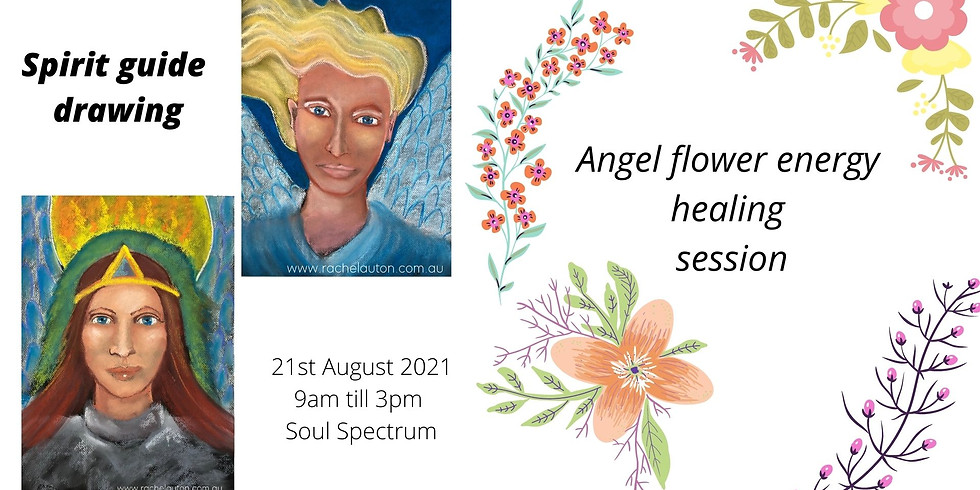 Spirit Guide Drawing & Angel flower therapy