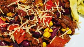 Vegan Chili Dish