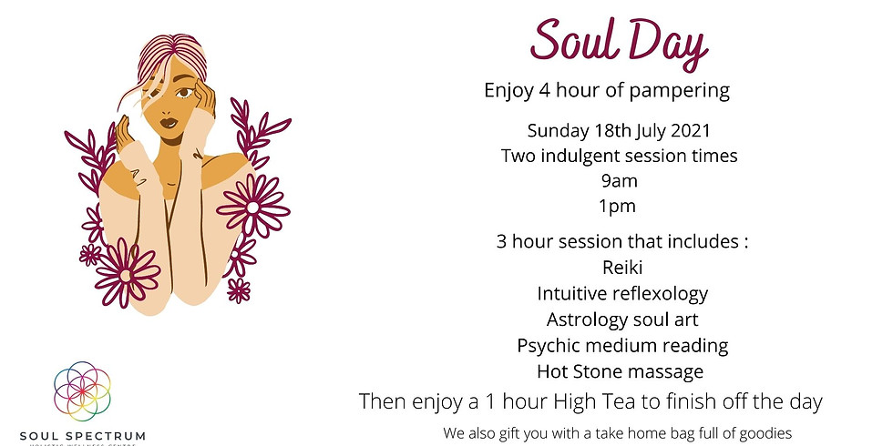 Soul Day - A day of Pampering