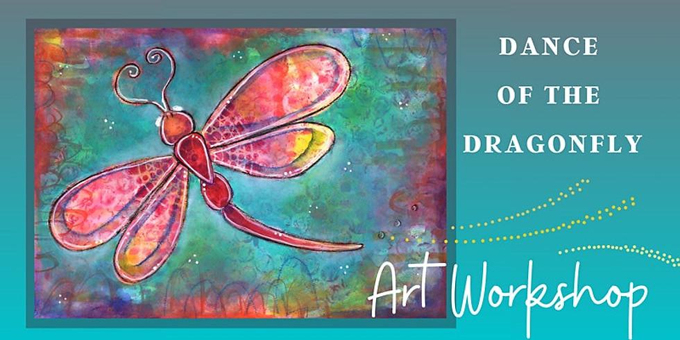 Dance of the Dragonfly - Art class