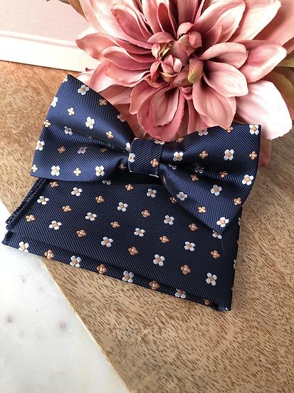 Mini Flower Bow Tie