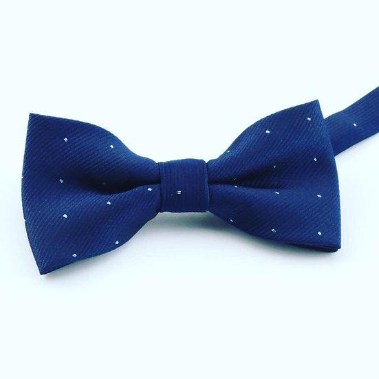 Diagonal Striped Bow Tie