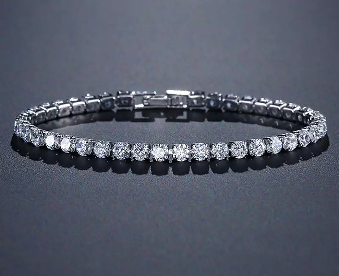 Round Cut Bracelet