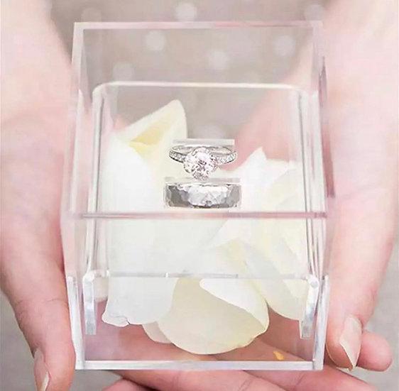Acrylic Ring Box