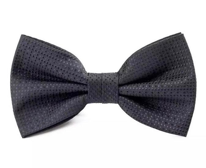 Dimensional Black Bow Tie