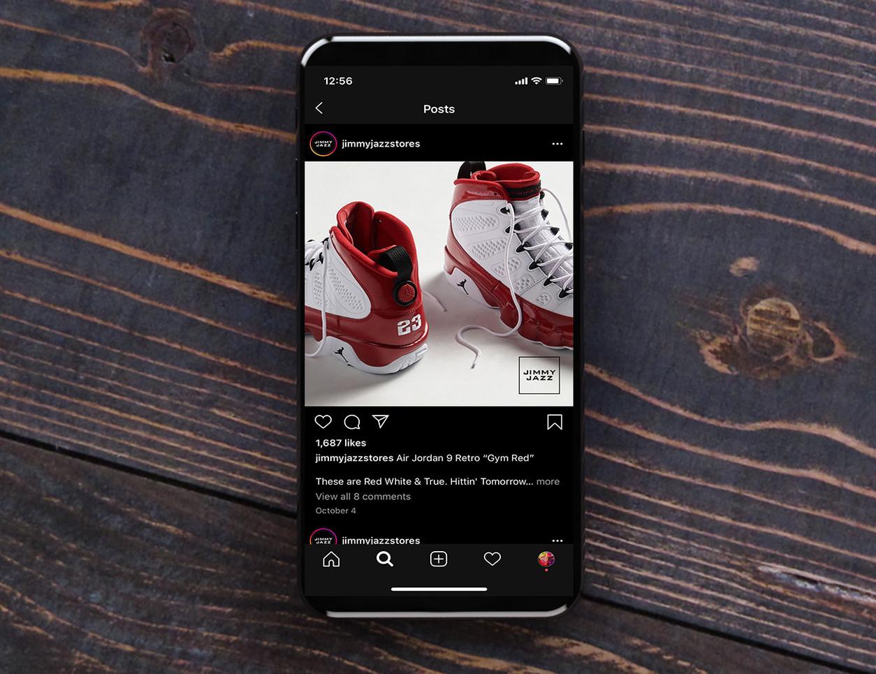 Jimmy Jazz Social Media Release Post