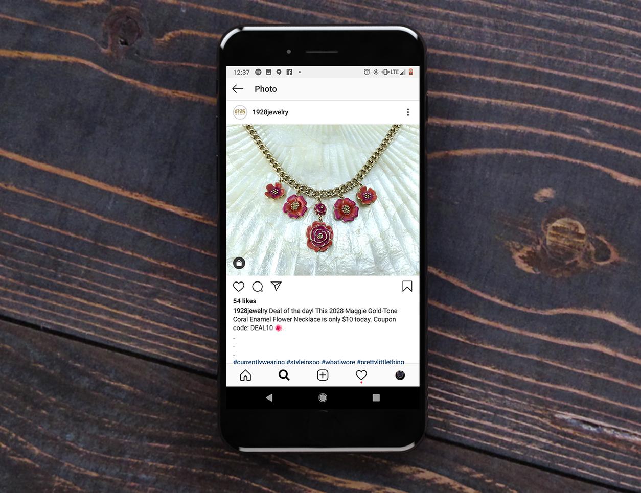 Social Media Post 1928 Jewelry
