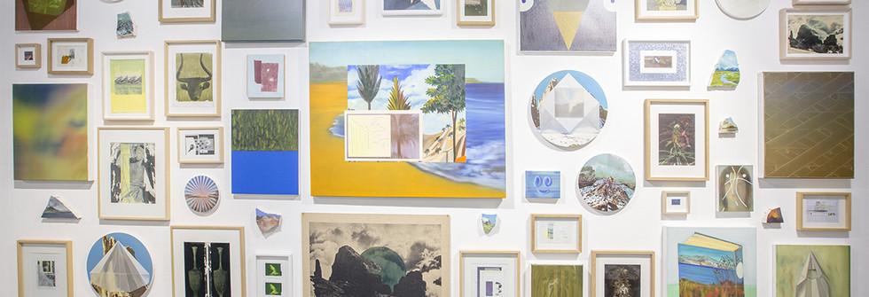 Vue de l'exposition Echoes II à la Galerie Odile Ouizeman, 2019