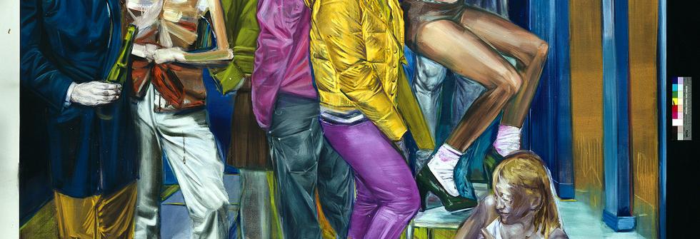 La nuit, Huile sur toile, 200 x 210 cm, 2009