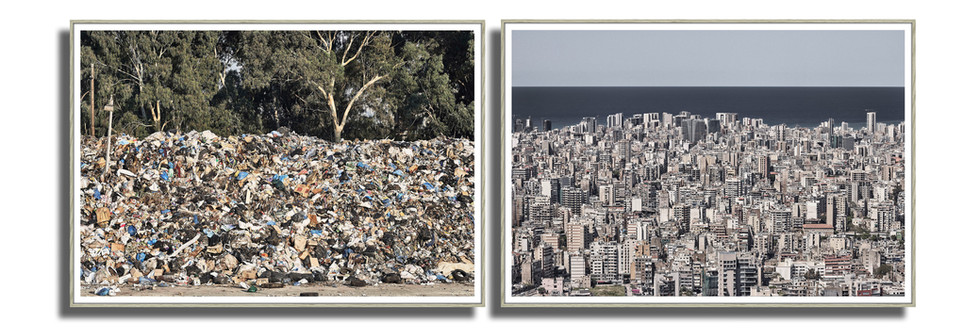 Série City Garbage, Jet d'encre pigmentaire Ultrachrome K3 sur llford Galerie Gold Fiber Silk baryté 43 cm x 60 cm, 2015