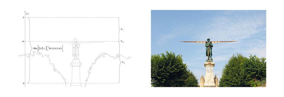 Minimisation du métadédale, Tirage jet d'encre pigmentaire, papier blanc fine art, 300 grammes, 74 x 30 cm,2008 - 2012