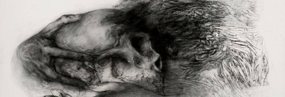 Seduction, Charcoal on paper, 125 x 160 cm, 2015