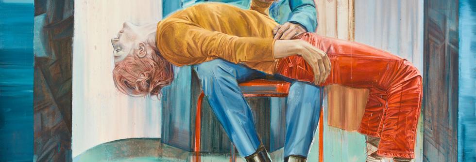 Pieta, 215x185 cm, 2011