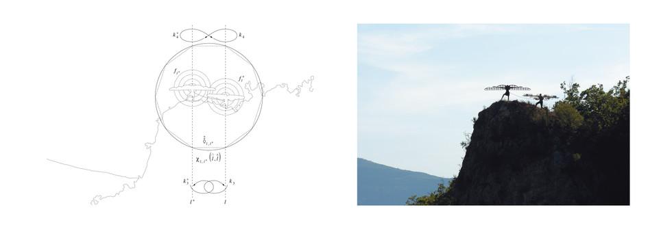 Alter-égoïsme et ego-altruisme,  Tirage jet d'encre pigmentaire, papier blanc fine art, 300 grammes, 74 x 30 cm, 2008 - 2012