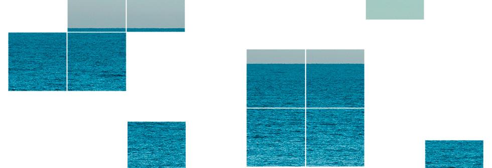 Horizon Tetris, Fine Art Inkjet Print Hahnemühle Matt Paper, 40 x 40 cm, 2016