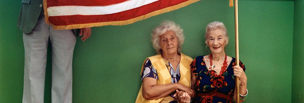 Série Anna Amerikan mummu 1995-2005,The Flag, Lake Worth