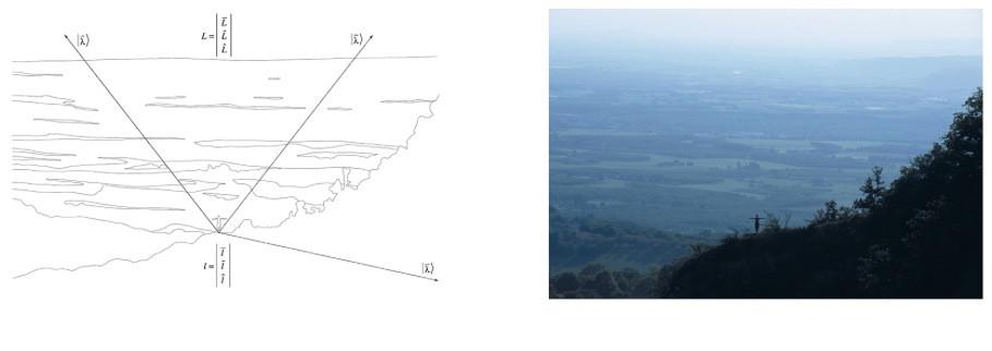 Etre au monde, Tirage jet d'encre pigmentaire, papier blanc fine art, 300 grammes, 74 x 30 cm, 2008-2012