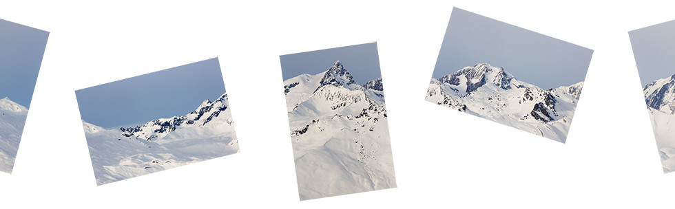 High & Low // Day I, Art Inkjet Print Mounted on Aluminium, 65 x 260 cm, 2019
