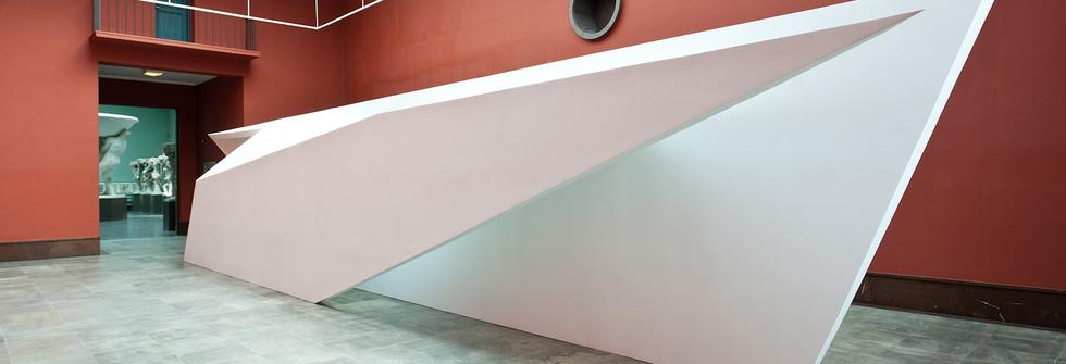 Vue d'exposition Passage for Reflection, Vigeland-museet, 2014