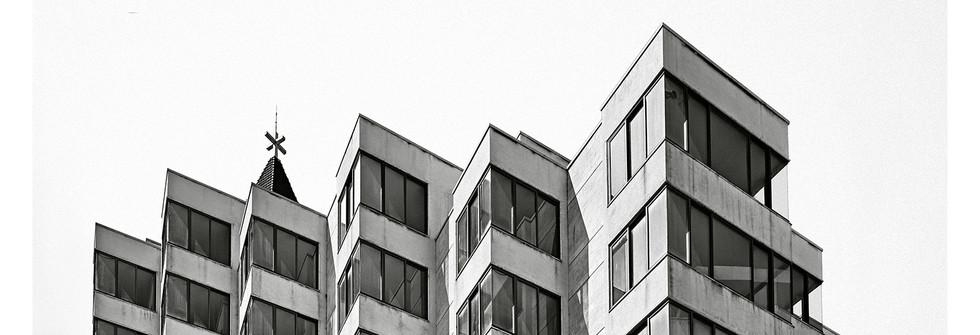 Série Pre Civil War Modern Architecture, Jet d'encre pigmentaire Ultrachrome K3 sur llford Galerie Gold Fiber Silk baryté, 2018
