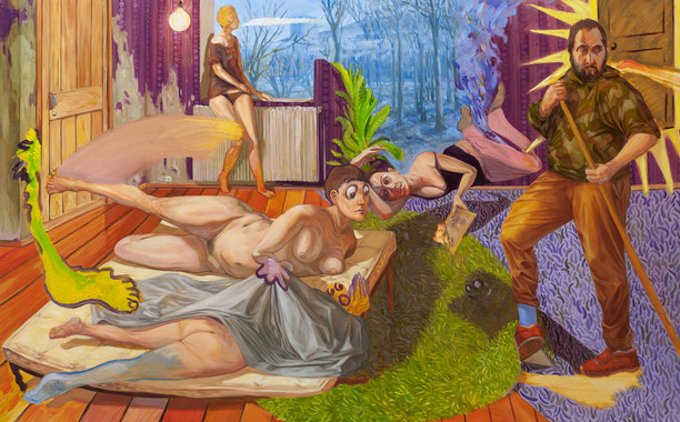 Dernières lumières d'été sur le jardin d'Eden - Enzo Certa
