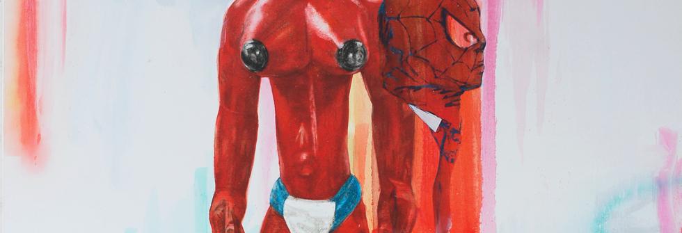 Petites mains, huile sur toile, 215 x 185 cm, 2007