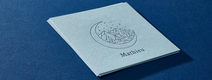 Geboortekaart Mathieu