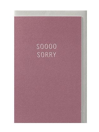 Soooo sorry