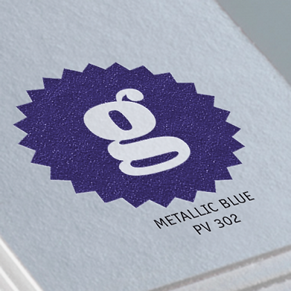 METALLIC BLUE PV 302