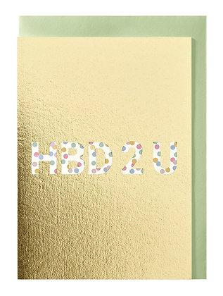 HBD 2 U