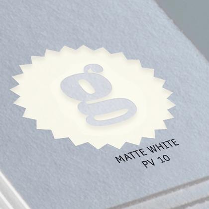 MATTE WHITE PV 10