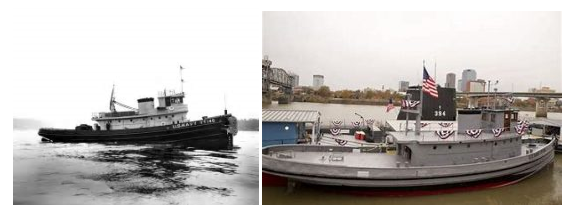 Historic and recent images of USS Hoga (http://aimmuseum.org/uss-hoga/)
