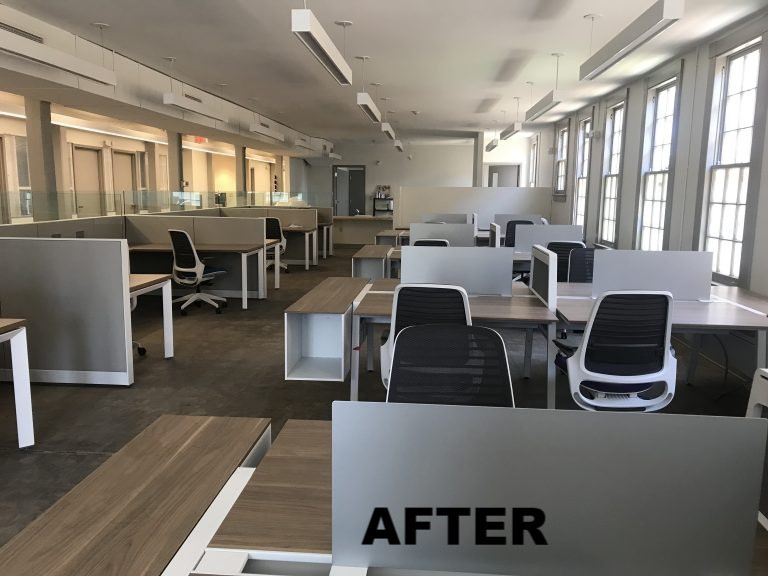 After renovation - shared space