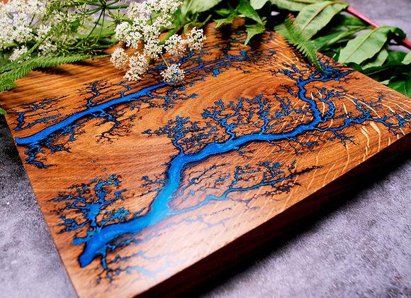 Custom Lichtenberg Cutting Board