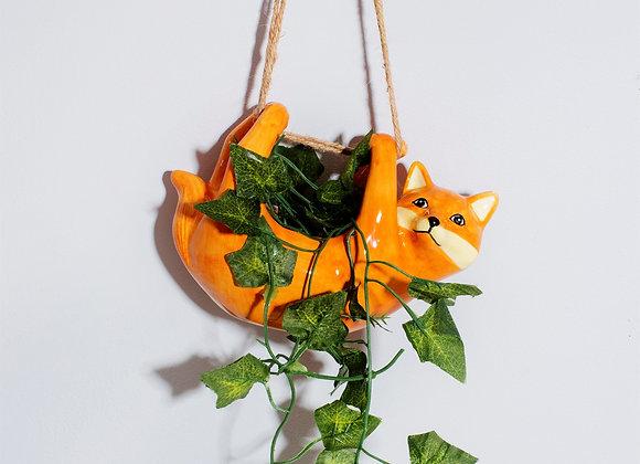 Hanging Fox Planter