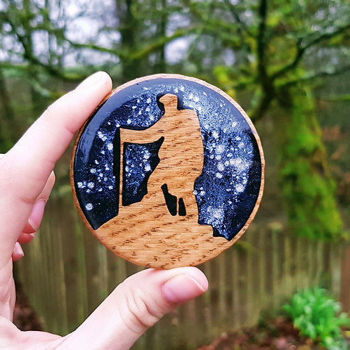 Fully Customisable Geocaching Trackable Coin / Travelbug / Geocaching Gift