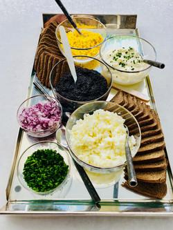 caviar platter