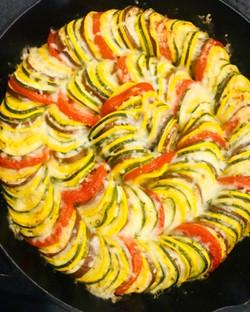 parmesan vegetable tian