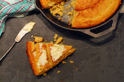 cornbread w/ jalapeno honey butter