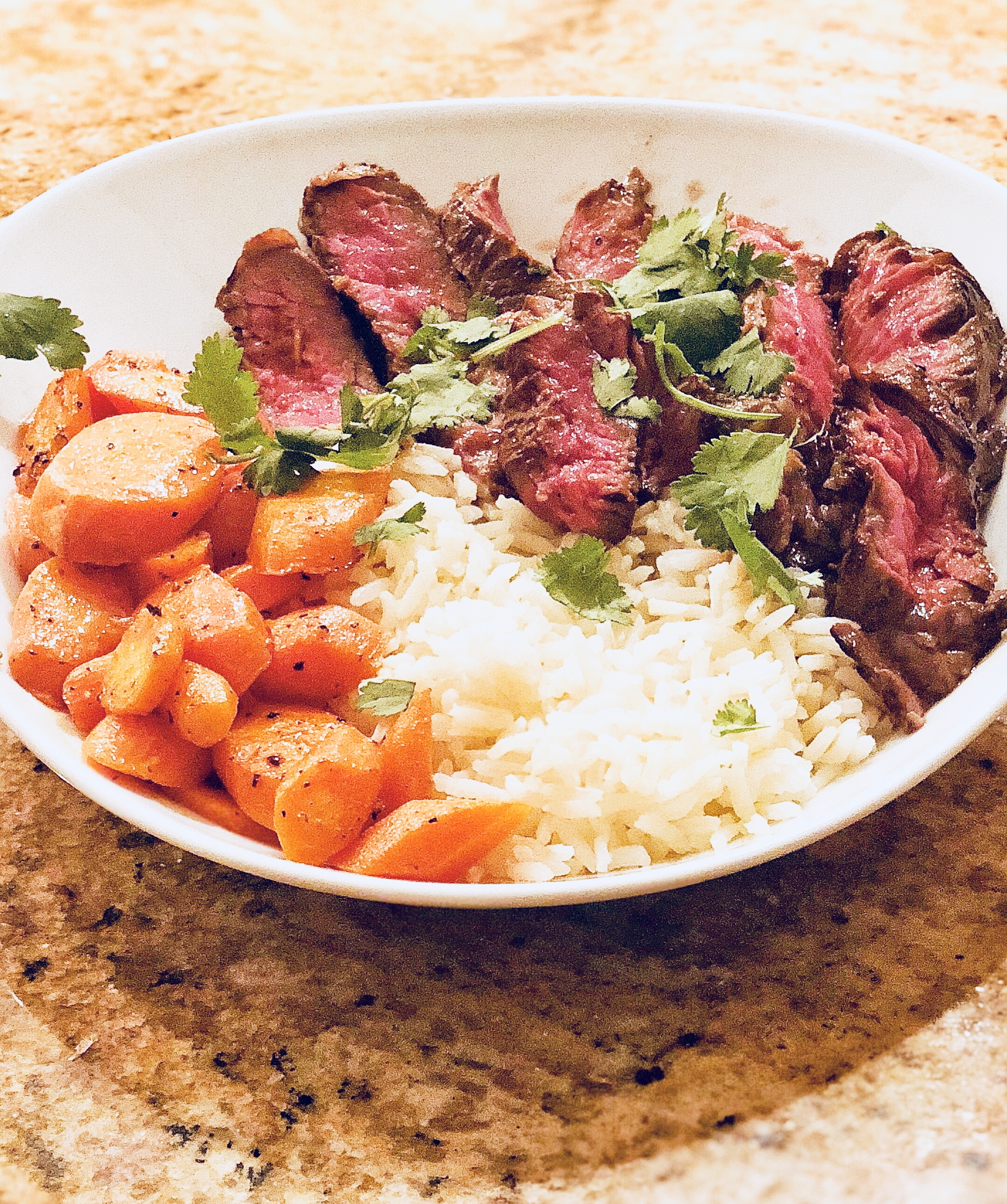 asian marinated steak