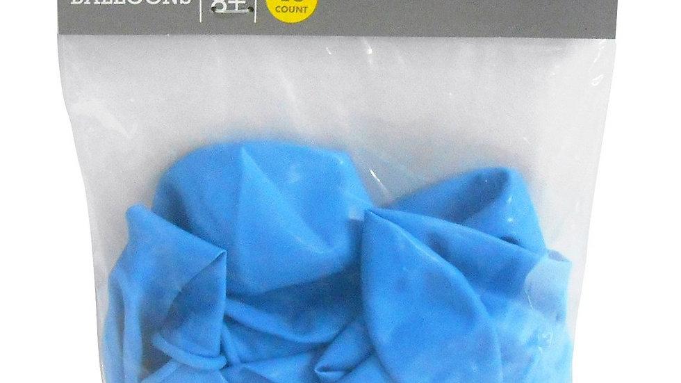 "Spritz Balloons 12"" Light Blue 15 Ct"