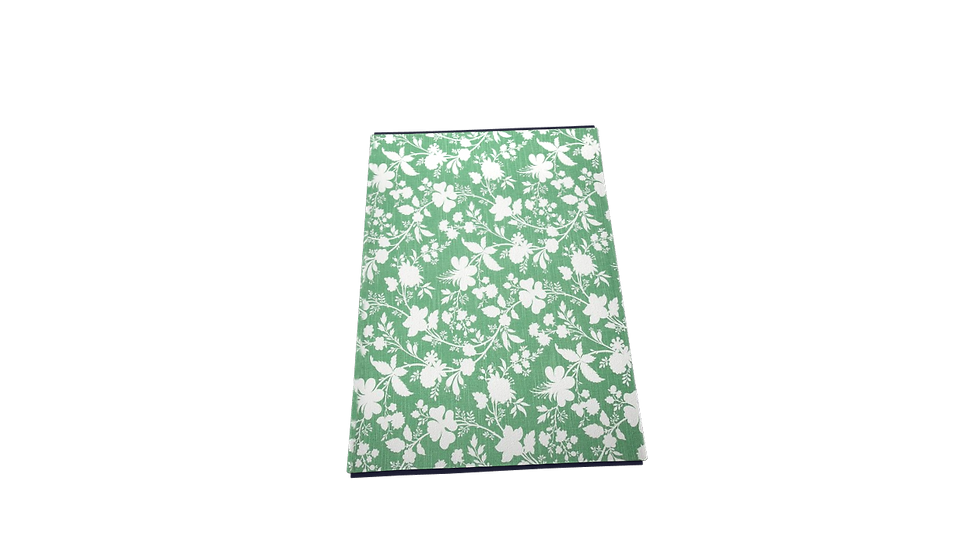 "19""x14"" Artistic Floral Placemat Green - Threshold™"